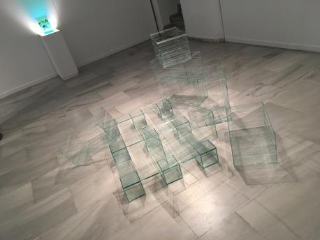 Obra Andrea Capena (palés de cristal)