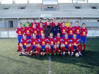 Coslada Infantil A, fútbol, equipo
