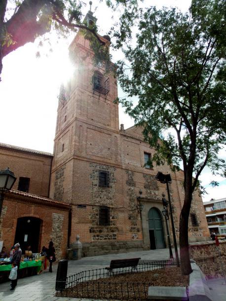 Parroquia de Santa María de la Antigua, Iglesia Vicálvaro
