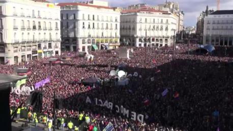 La marcha del cambio, del pasado 31 de enero en Madrid.