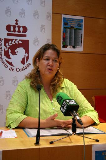 Maite García Ferrer, Servicios Sociales, Mayores, Coslada