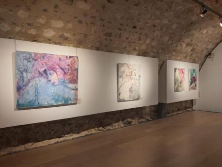 """Exposición """"Sobre los Ángeles""""- Elaboración: propia"""