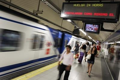 metro huelga 29 de junio del 2010