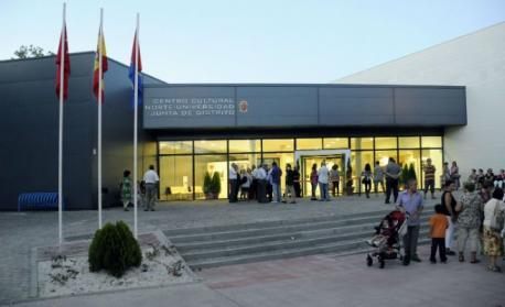 Entrada del centro sociocultural Norte Universidad