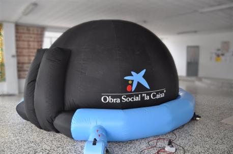 "planetario móvil Obra Social ""La Caixa"""