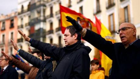 Manifestación franquista