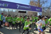 Meta de la 7ª edición de la Carrera por la Esperanza organizada por al Federación Española de Enfermedades Raras (Foto: FEDER)