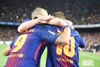 Messi, Suárez e Iniesta. | Foto: Noelia Déniz, VAVEL.com
