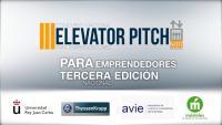 Cartel de la III Edición de My Elevator Pitch