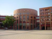 Plaza posterior del Ayuntamiento de Coslada