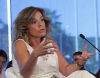 Ana Botella en una conferencia. Fuente:commons.wikimedia.org