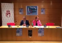 Raúl López y Lola Gómez, presentando III Semana de Salud, / Fuente: @ppcoslada