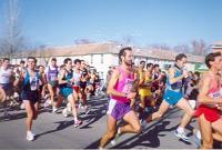 Participantes en una Carrera popular
