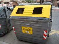 contenedor, reciclaje, residuos, basura, Coslada