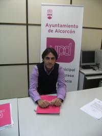 Jesus Gamonal concejal y portavoz  de  UPyD en Alcorcón