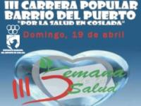 Cartel de la III Carrera Popular de Coslada.