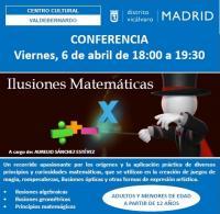 Ilusiones Matemáticas, la nueva conferencia en Vicálvaro
