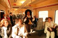 Sancho Panza ameniza el trayecto a Alcalá