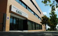 Acceso principal al Vivero de Empresas de Vicálvaro