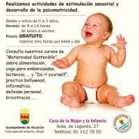 Cartel de la Casa de la Mujer y de la Infancia
