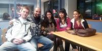 Cinco estudiantes de Fisioterapia de Alcorcón