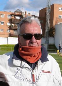 Julio José Aguado, entrenador Atlético Giner de Leganés