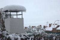 Azoteas nevadas en Coslada