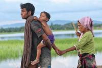 Familia rohingya