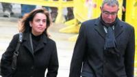 Torres y su mujer llegan a los Juzgados Palma