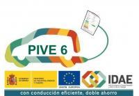 Logo del Plan PIVE 6 (Fuente: IDAE)