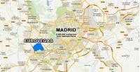Mapa Eurovegas y Alcorcón