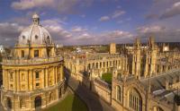 Vista de la Universidad de Oxford