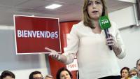 Susana Díaz se presenta a Secretaria General del PSOE