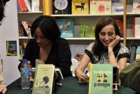 Zahara y Patricia de Benito, firma de libros 22.03.2018